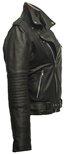Damen Lederjacke aus weichem Rindnappaleder - 3