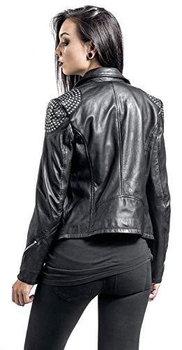 Gipsy Reese SF Girl-Lederjacke Schwarz M - 8